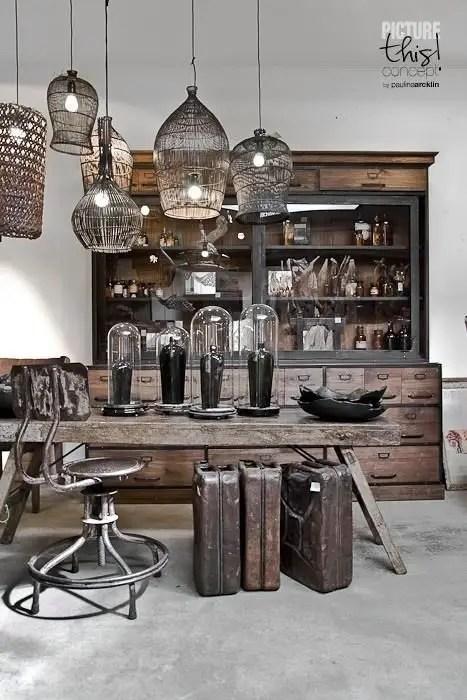 Rustic industrial decor and design ideas 06