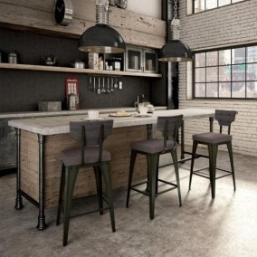 Rustic industrial decor and design ideas 22