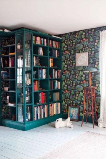 Corner shelves that change home decor become more beautiful 33