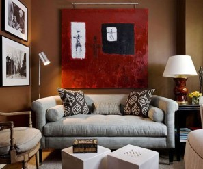 Design a living room in a small space that remains comfortablel 05