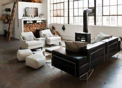 Design a living room in a small space that remains comfortablel 37