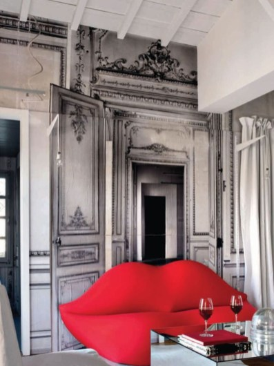 Home interior design with the concept of valentine's day 19