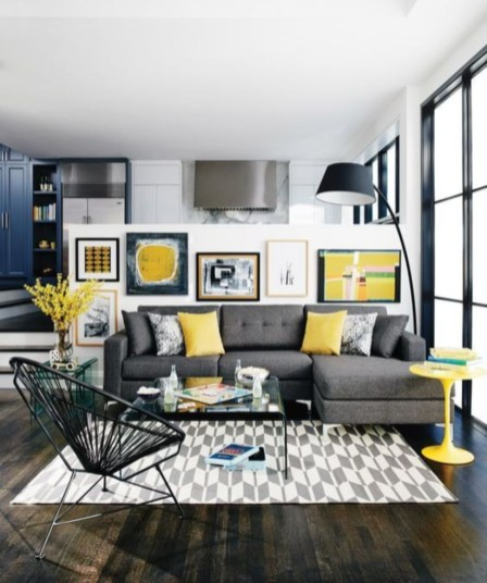 The design of the living room looks luxurious 14