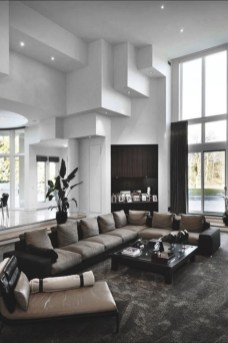 The design of the living room looks luxurious 34