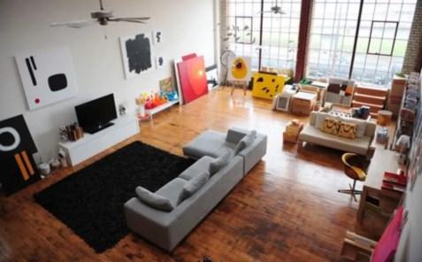 The best artistic livingroom design 43