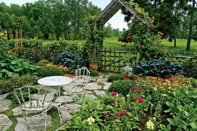 The best garden design for small areas 20