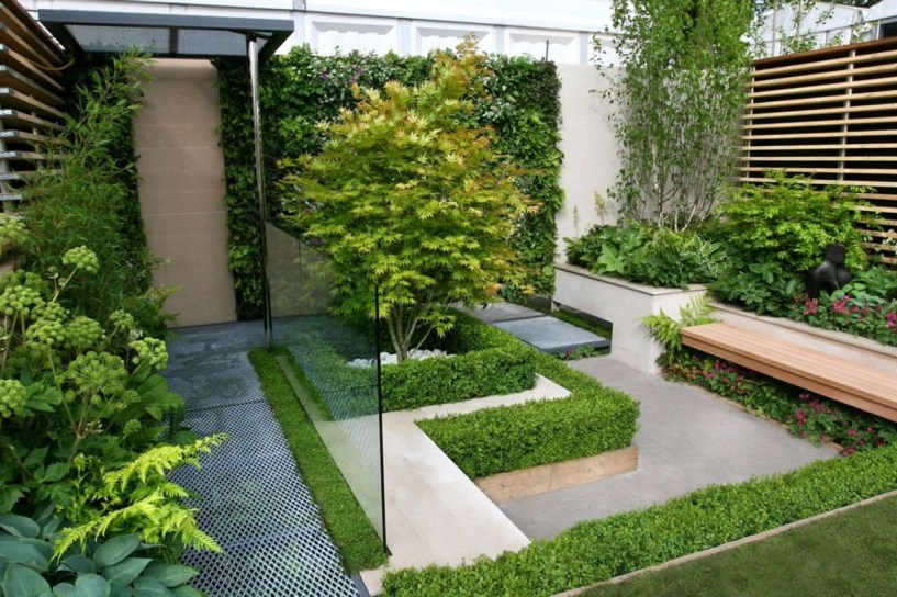 The best garden design for small areas 41