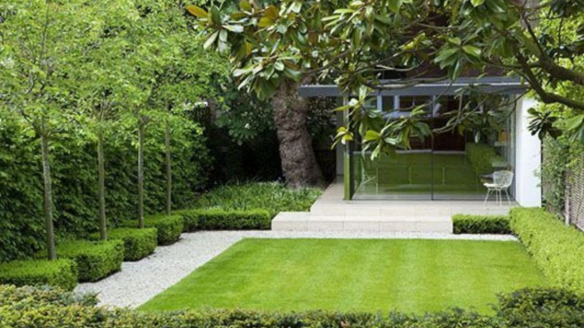 46 The Best Garden Design for Small Area