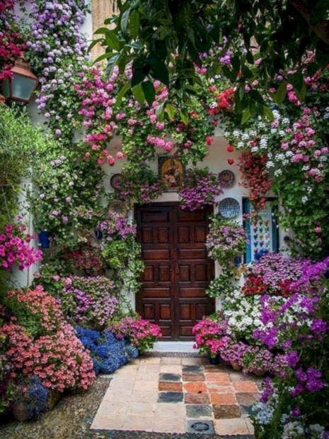 Amazing rose garden ideas in this year 30