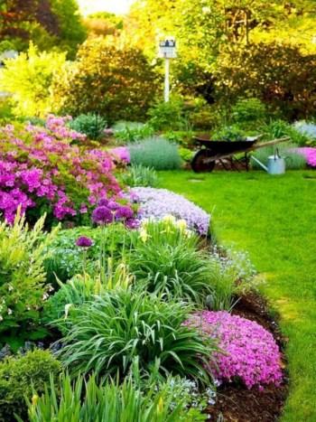 Amazing rose garden ideas in this year 42