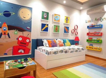 Boys bedroom ideas for you try in home 10