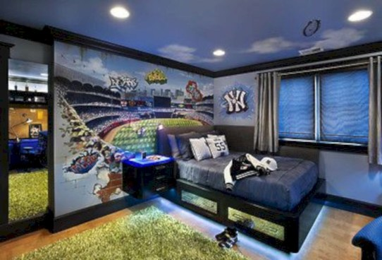 Boys bedroom ideas for you try in home 17
