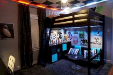 Boys bedroom ideas for you try in home 19