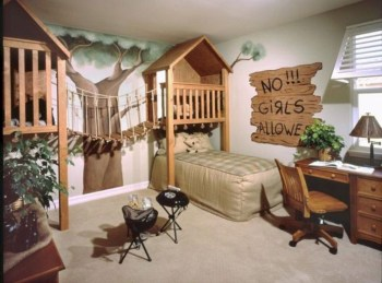Cozy small bedroom ideas for your son 19