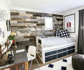 Cozy small bedroom ideas for your son 40