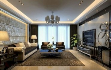 Living room design ideas that you should try 09