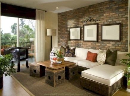 Living room design ideas that you should try 45