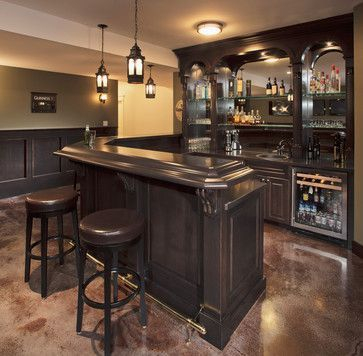 Amazing mini bar design ideas that you can copy right now 02