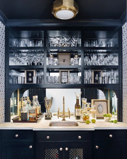 Amazing mini bar design ideas that you can copy right now 05