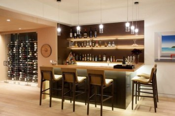 Amazing mini bar design ideas that you can copy right now 07