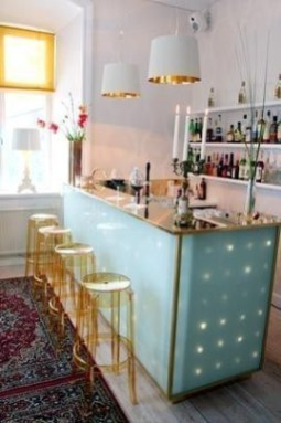 Amazing mini bar design ideas that you can copy right now 22