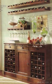 Amazing mini bar design ideas that you can copy right now 34