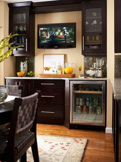 Amazing mini bar design ideas that you can copy right now 40