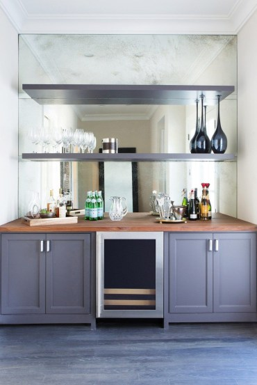 Amazing mini bar design ideas that you can copy right now 50