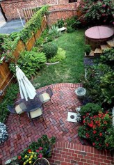 Backyard design for small areas that remain comfortable to relax 10
