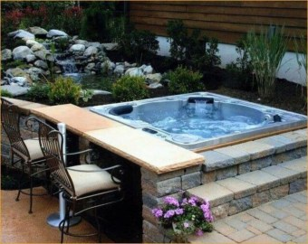 Backyard design for small areas that remain comfortable to relax 16