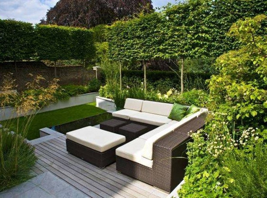 Backyard design for small areas that remain comfortable to relax 21