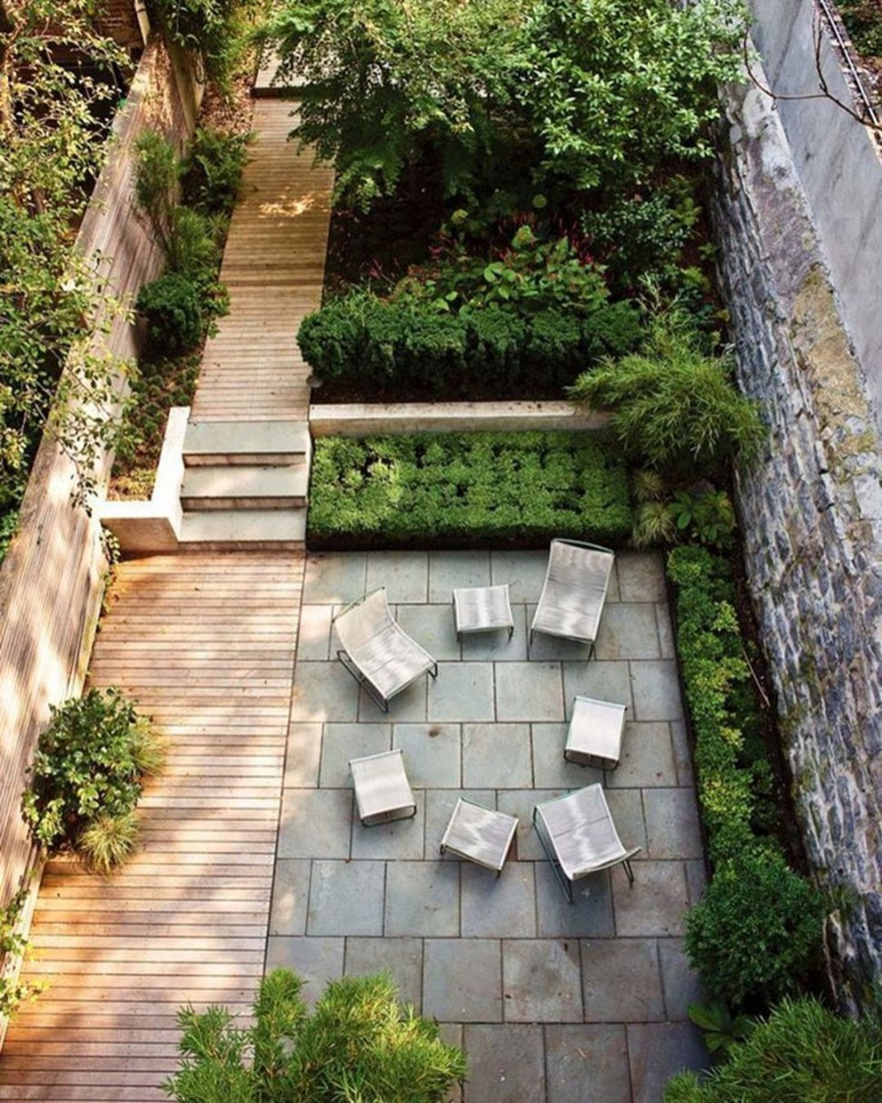 Backyard design for small areas that remain comfortable to relax 27