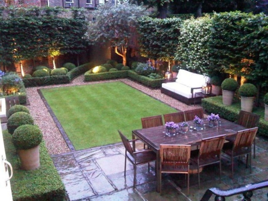 Backyard design for small areas that remain comfortable to relax 28