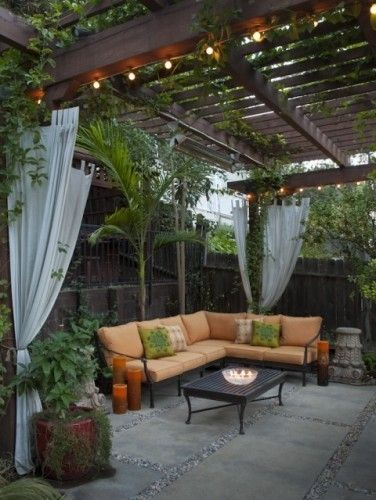 Garden design that is refreshing and comfortable 12