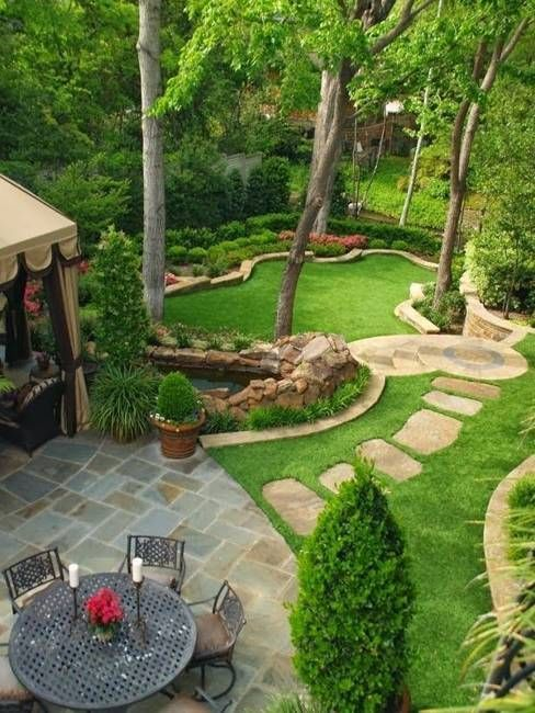 Garden design that is refreshing and comfortable 15