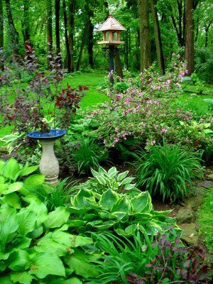 Garden design that is refreshing and comfortable 18