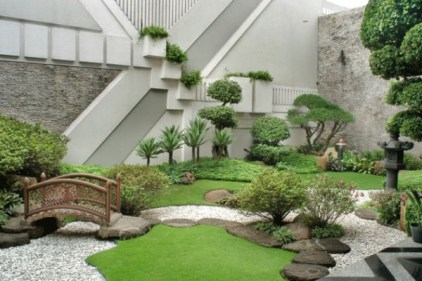 Garden design that is refreshing and comfortable 35