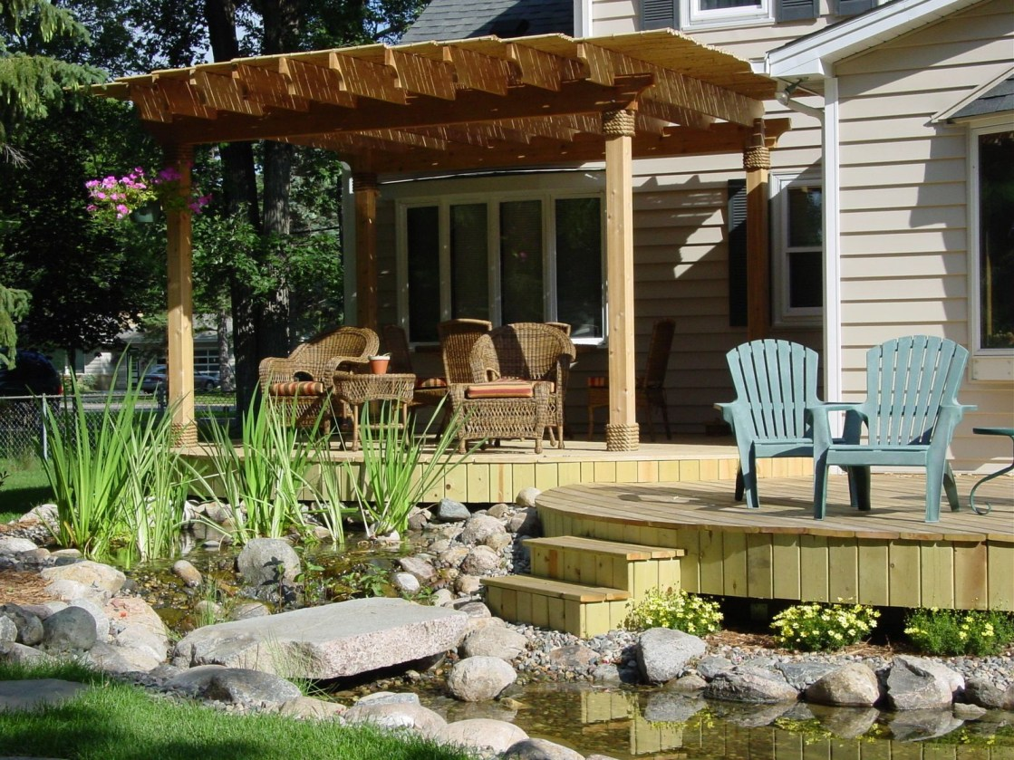 Garden design that is refreshing and comfortable 48