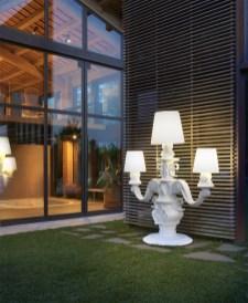 Garden lamp design ideas that make your home garden looked beauty 26
