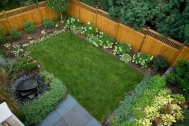Garden exterior design ideas using grass that make your home more fresh 28