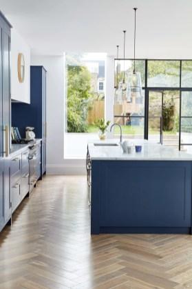 Kitchen floor design with the best motives 35