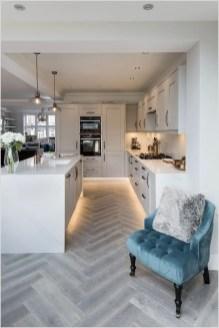 Kitchen floor design with the best motives 52