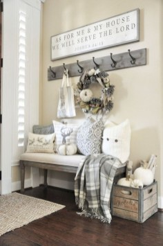 Rustic home decoration diy that you can try 05