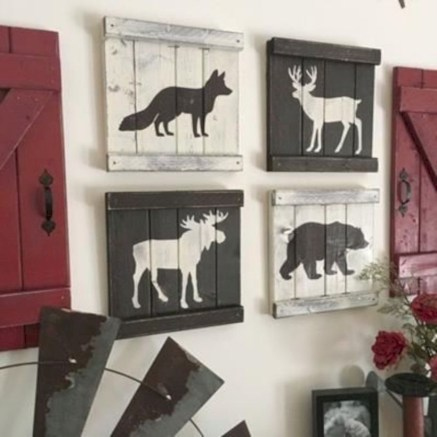 Rustic home decoration diy that you can try 28