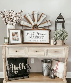 Rustic home decoration diy that you can try 42