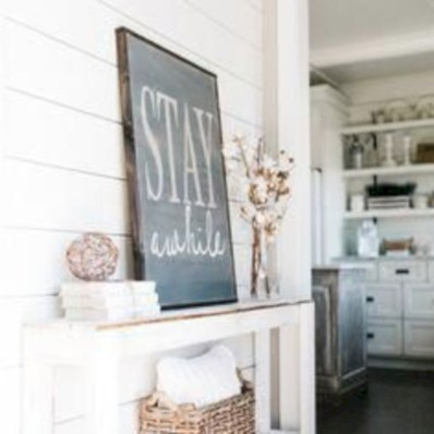 Rustic home decoration diy that you can try 46