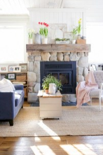Rustic home decoration diy that you can try 51