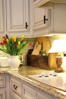 Rustic kitchen cabinet design ideas are very popular this year 02