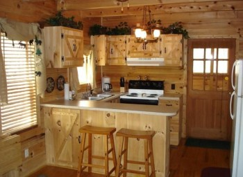 Rustic kitchen cabinet design ideas are very popular this year 10
