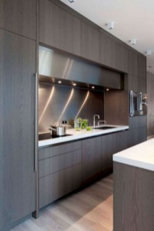 Rustic kitchen cabinet design ideas are very popular this year 18